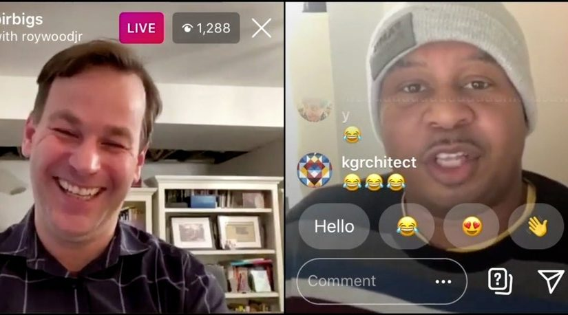 The Intimate Laughs of Instagram Live StandupComedy